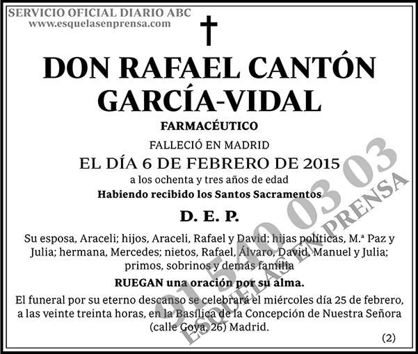 Rafael Cantón García-Vidal